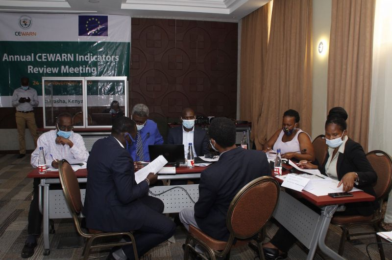 CEWARN engages Member State line ministries to refine early warning indicators